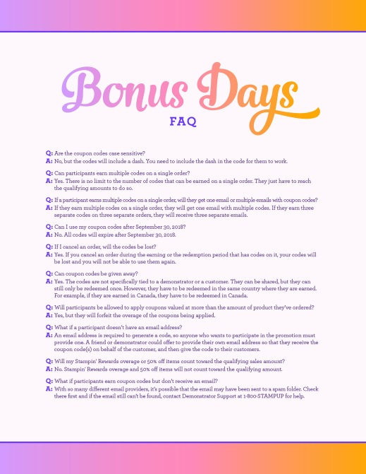 08.01.18_BONUS-DAYS_CUSTOMER-FAQ_NAEN