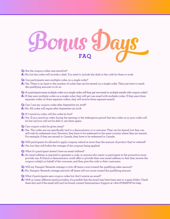 08.01.18_BONUS-DAYS_CUSTOMER-FAQ_NAEN