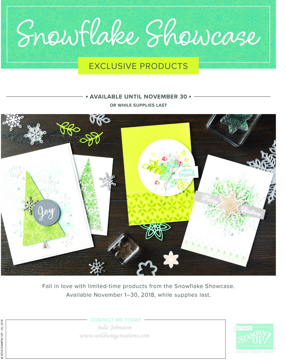 snowflake showcase